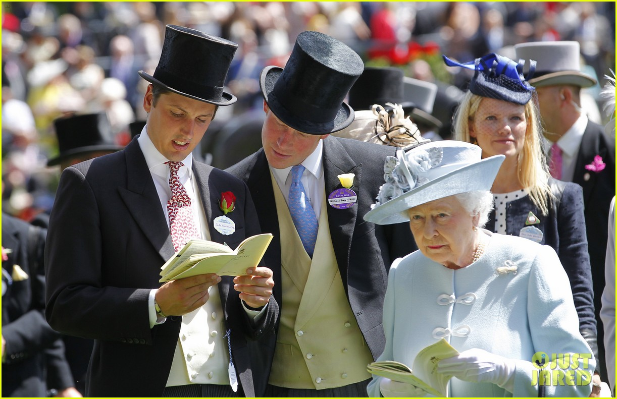 prince harry looks top notch top hat 303137228