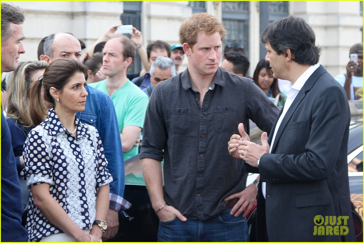 prince harry gets invitation to brazil by beautiful sabrina soto 133144593