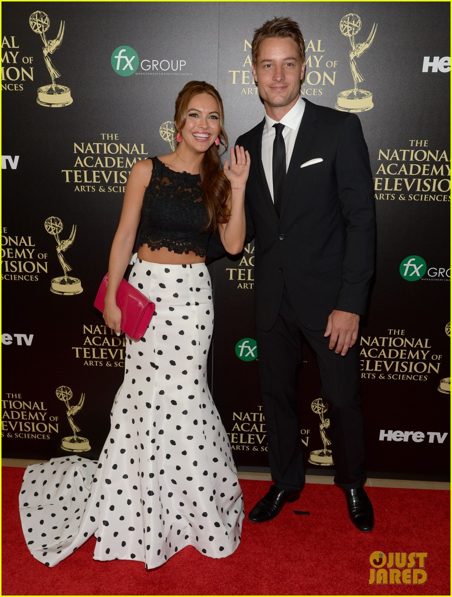 justin hartley chrishell strause daytime emmy awards 2014 063141943