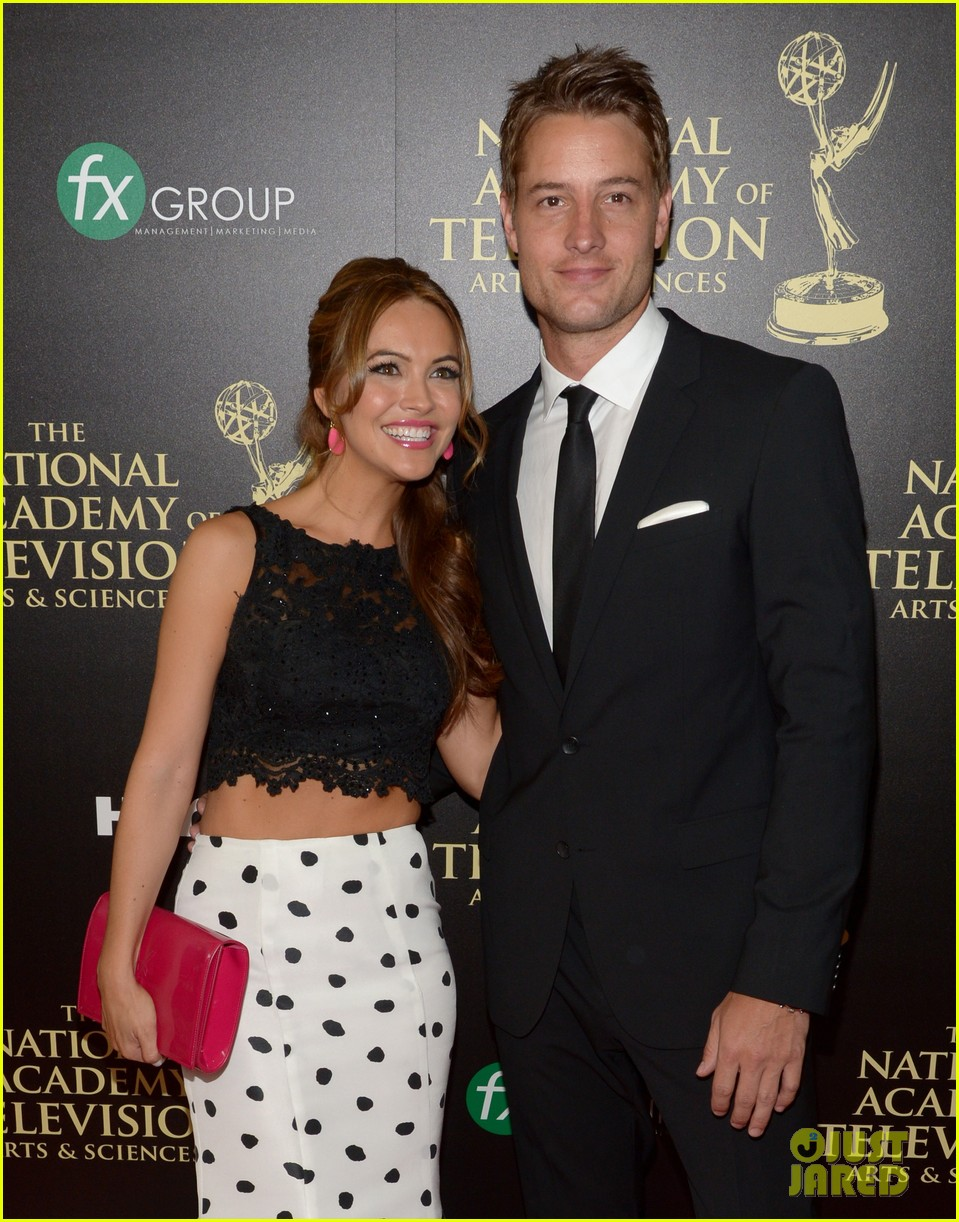 justin hartley chrishell strause daytime emmy awards 2014 103141947