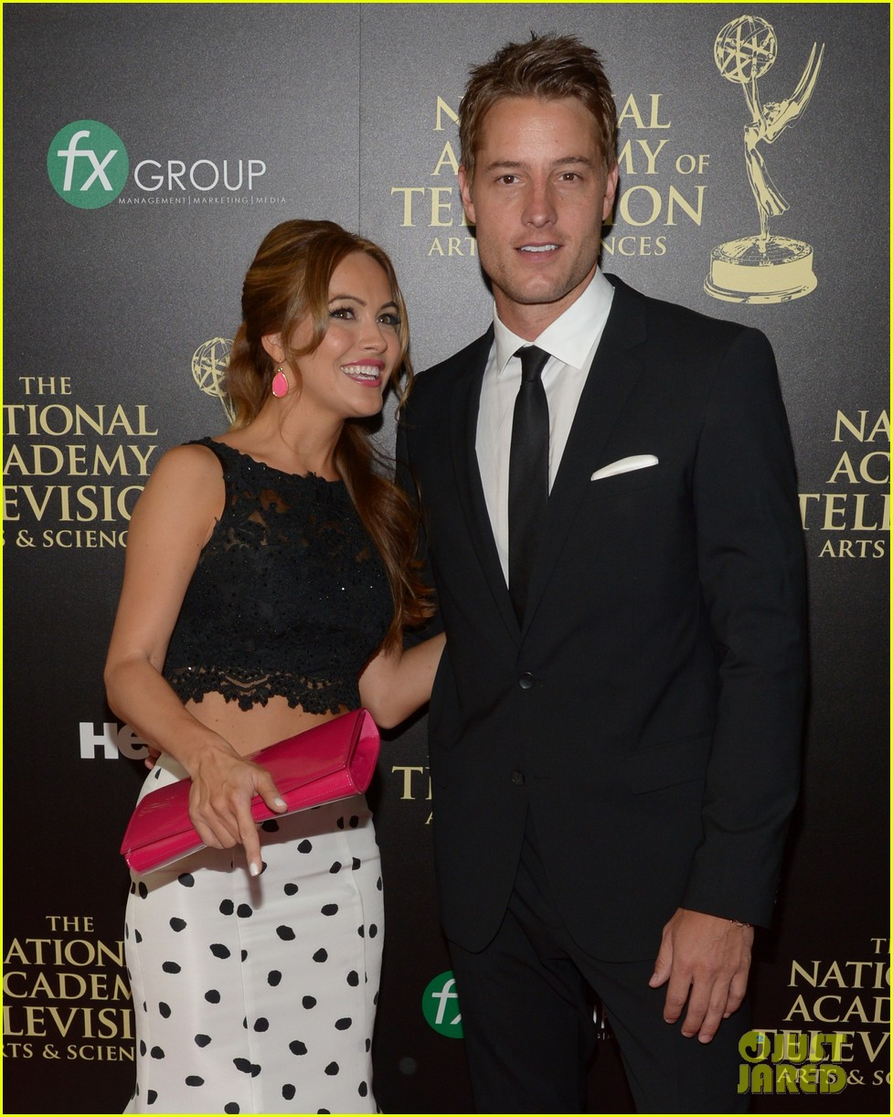 justin hartley chrishell strause daytime emmy awards 2014 143141951