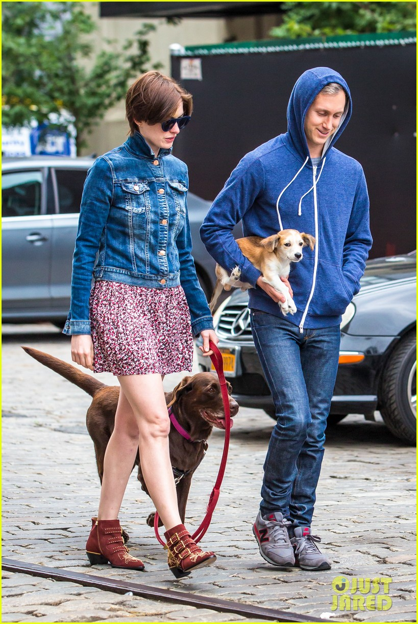 anne hathaway adam schulman add new fury friend to the mix 013133942