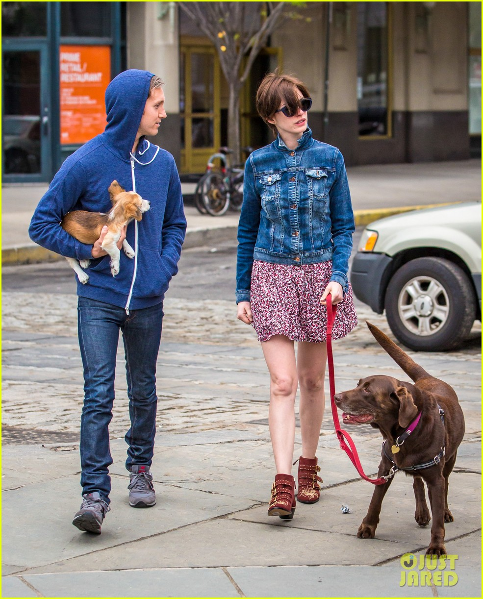anne hathaway adam schulman add new fury friend to the mix 063133947