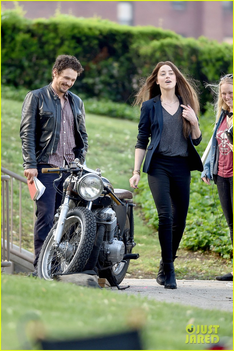 james franco wraps his arms around amber heard for motorcycle ride 173128107