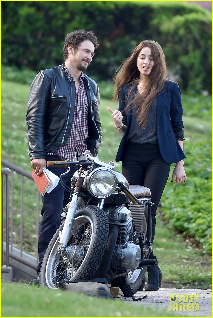 james franco wraps his arms around amber heard for motorcycle ride 243128114