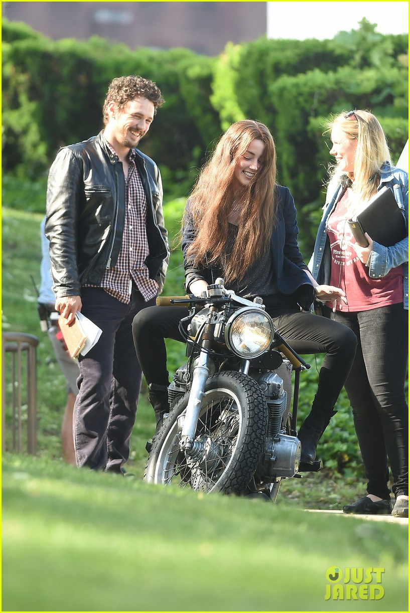 james franco wraps his arms around amber heard for motorcycle ride 273128117
