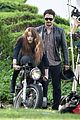 james franco wraps his arms around amber heard for motorcycle ride 09