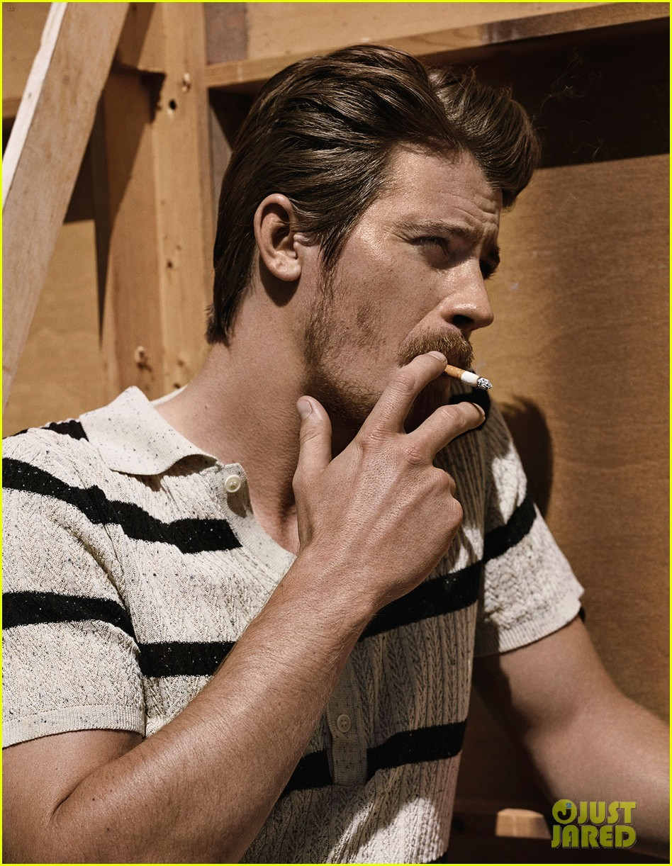 garrett hedlund man of the world 083126688