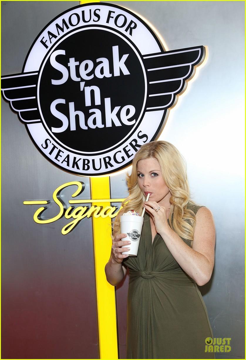 megan hilty steak n shake anniversary 023130543