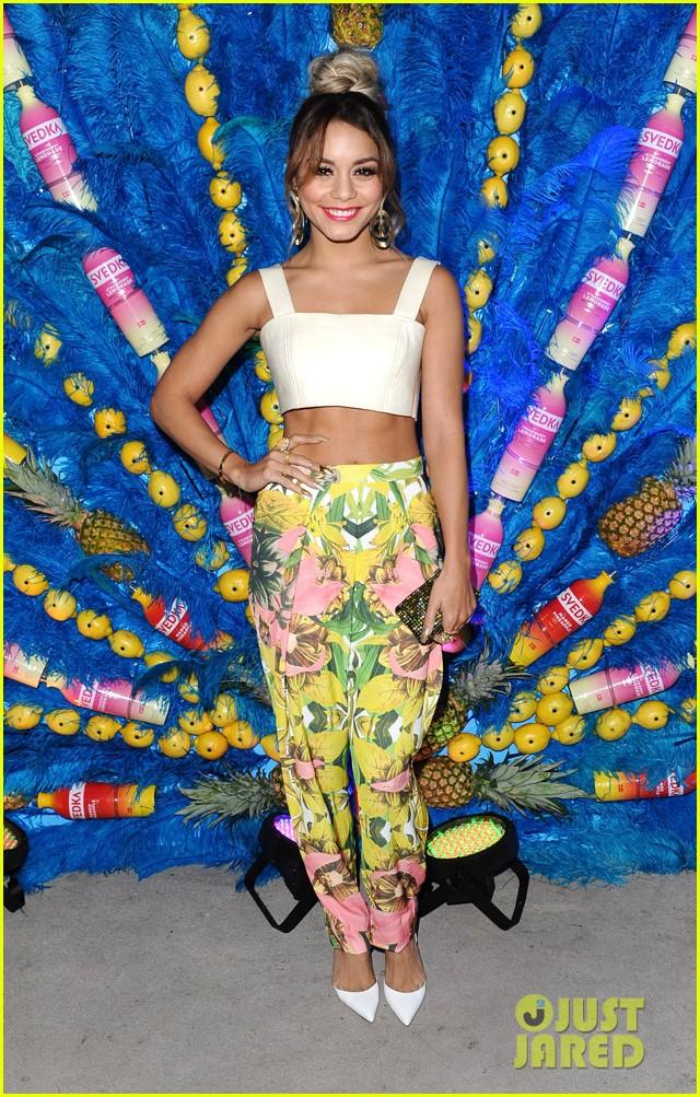 vanessa hudgens shows off her killer abs summer samba 183138033