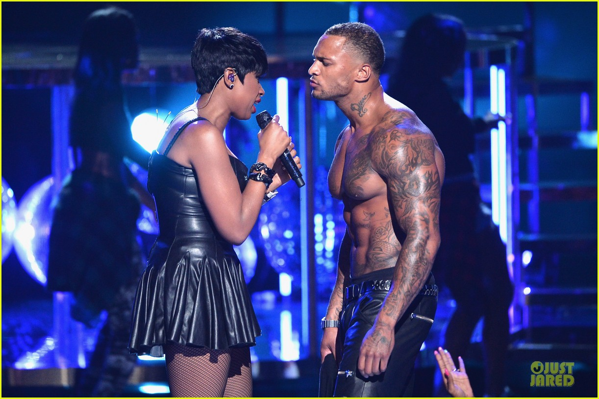jennifer hudson shirtless david mcintosh bet awards 2014 023146460