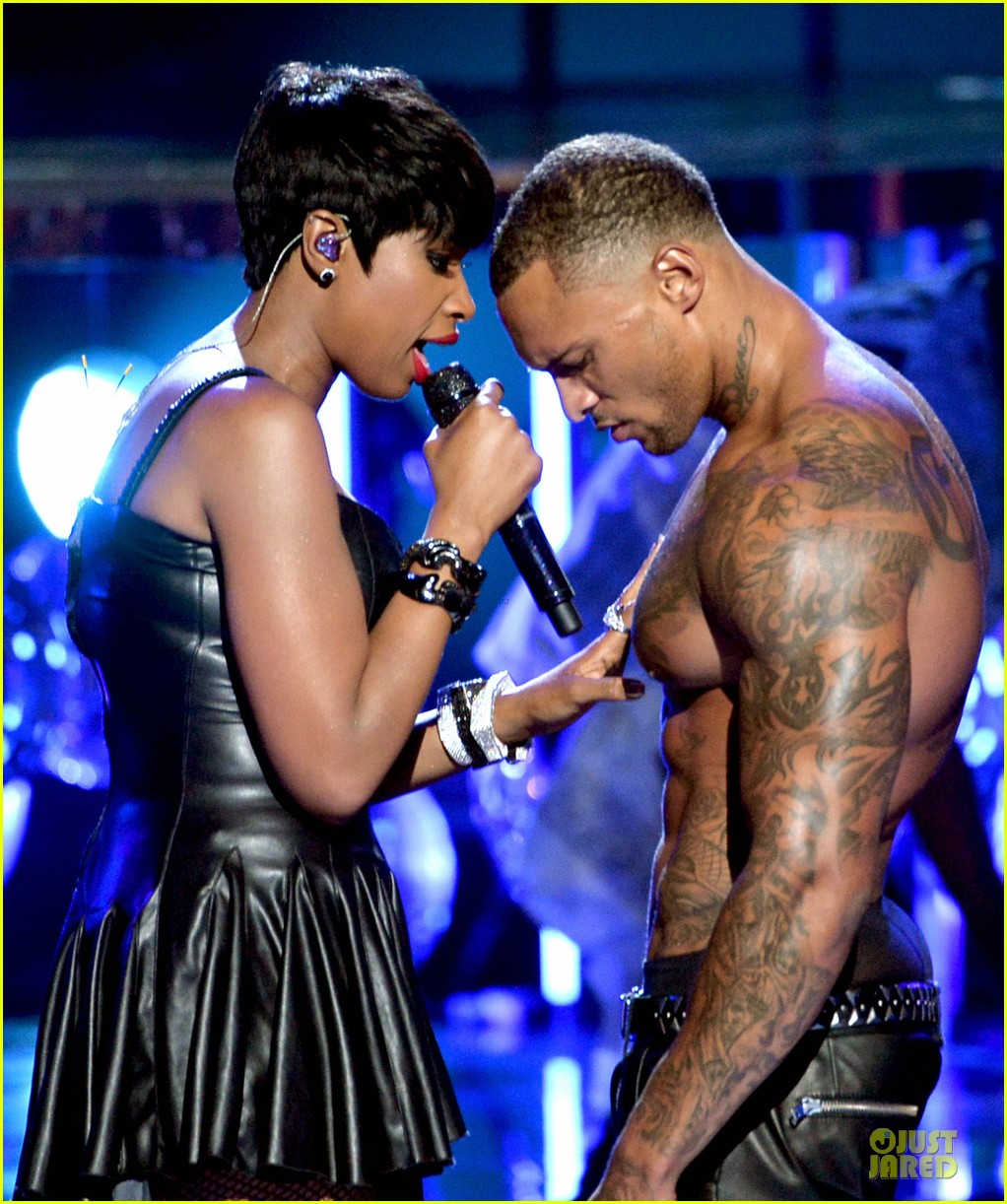 jennifer hudson shirtless david mcintosh bet awards 2014 093146467