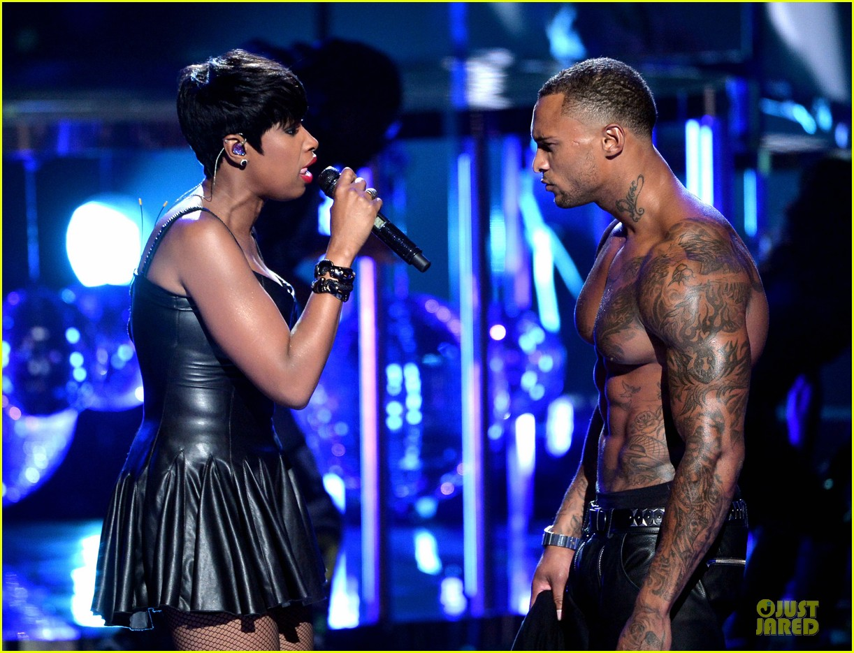 jennifer hudson shirtless david mcintosh bet awards 2014 113146469