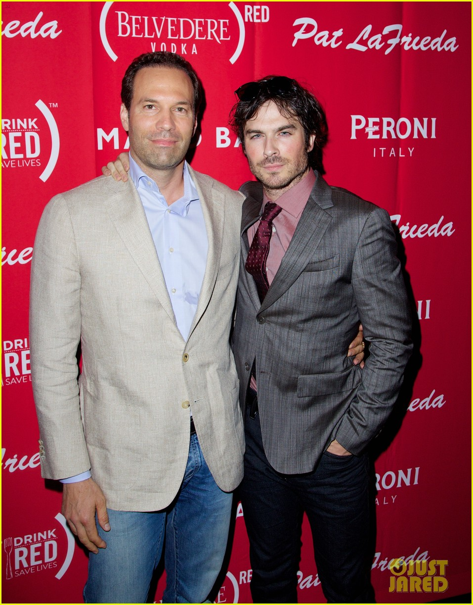 ian somerhalder eat red drink red save lives 03