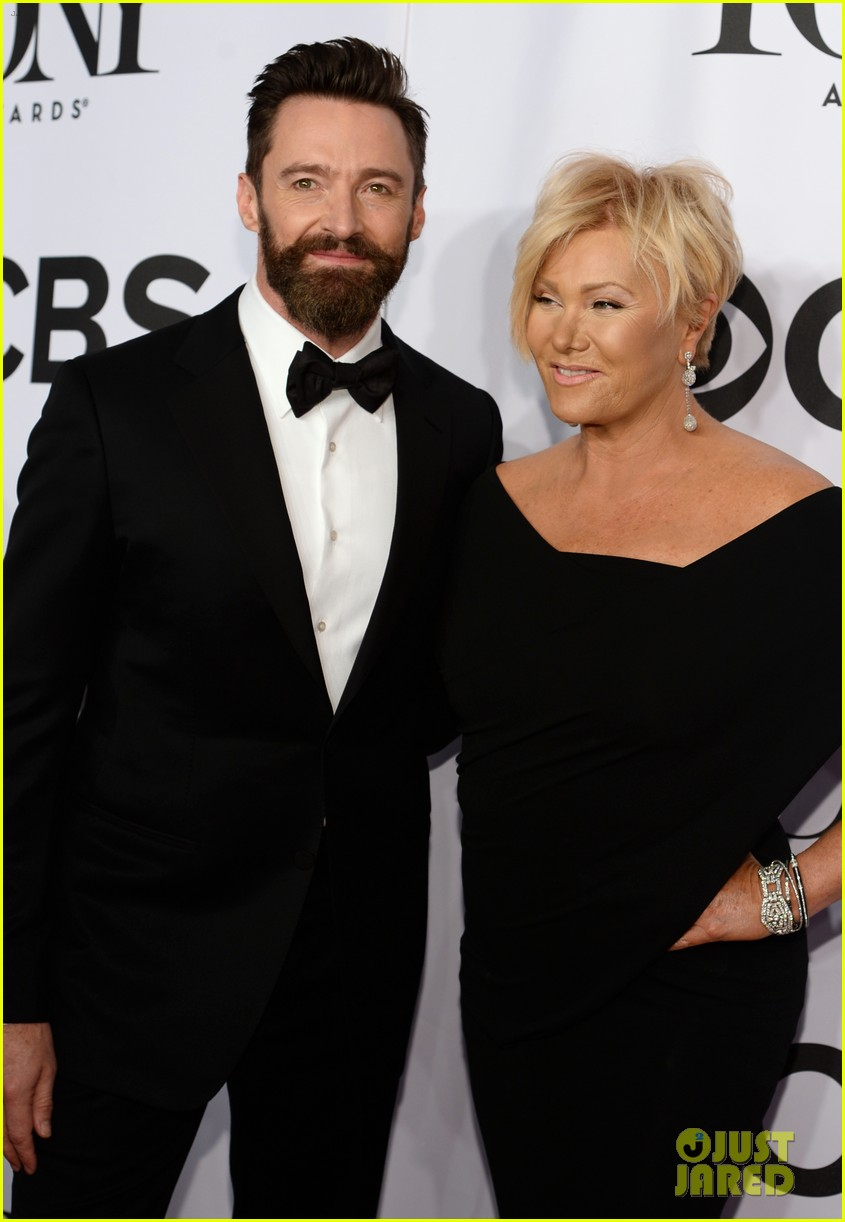 hugh jackman wife deborra lee furness tony awards 2014 093131142