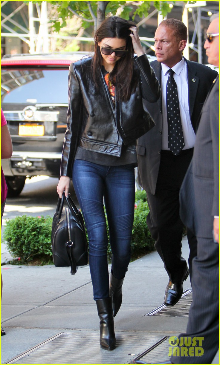 kendall kylie jenner hotel arrival exit nyc 043126692