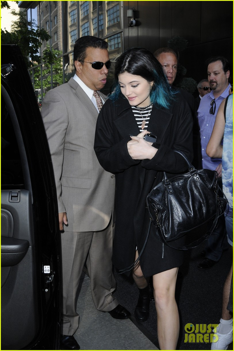 kendall kylie jenner hotel arrival exit nyc 053126693