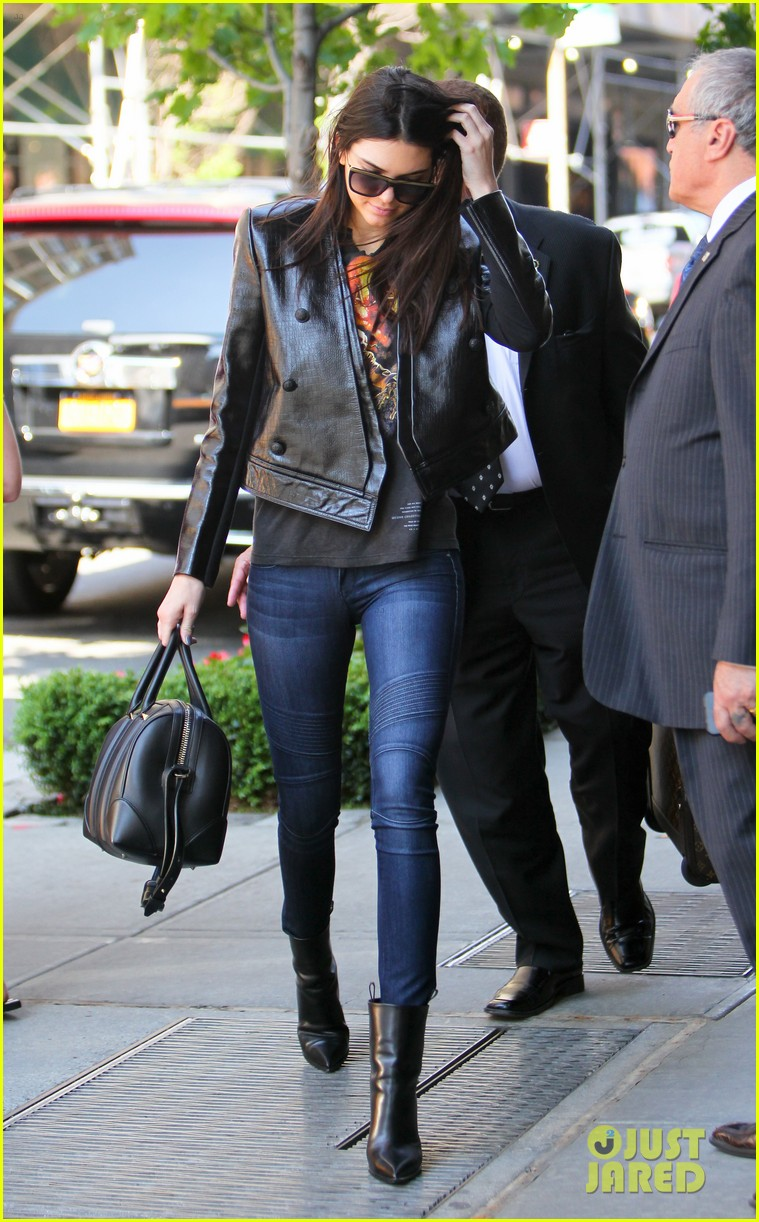 kendall kylie jenner hotel arrival exit nyc 083126696