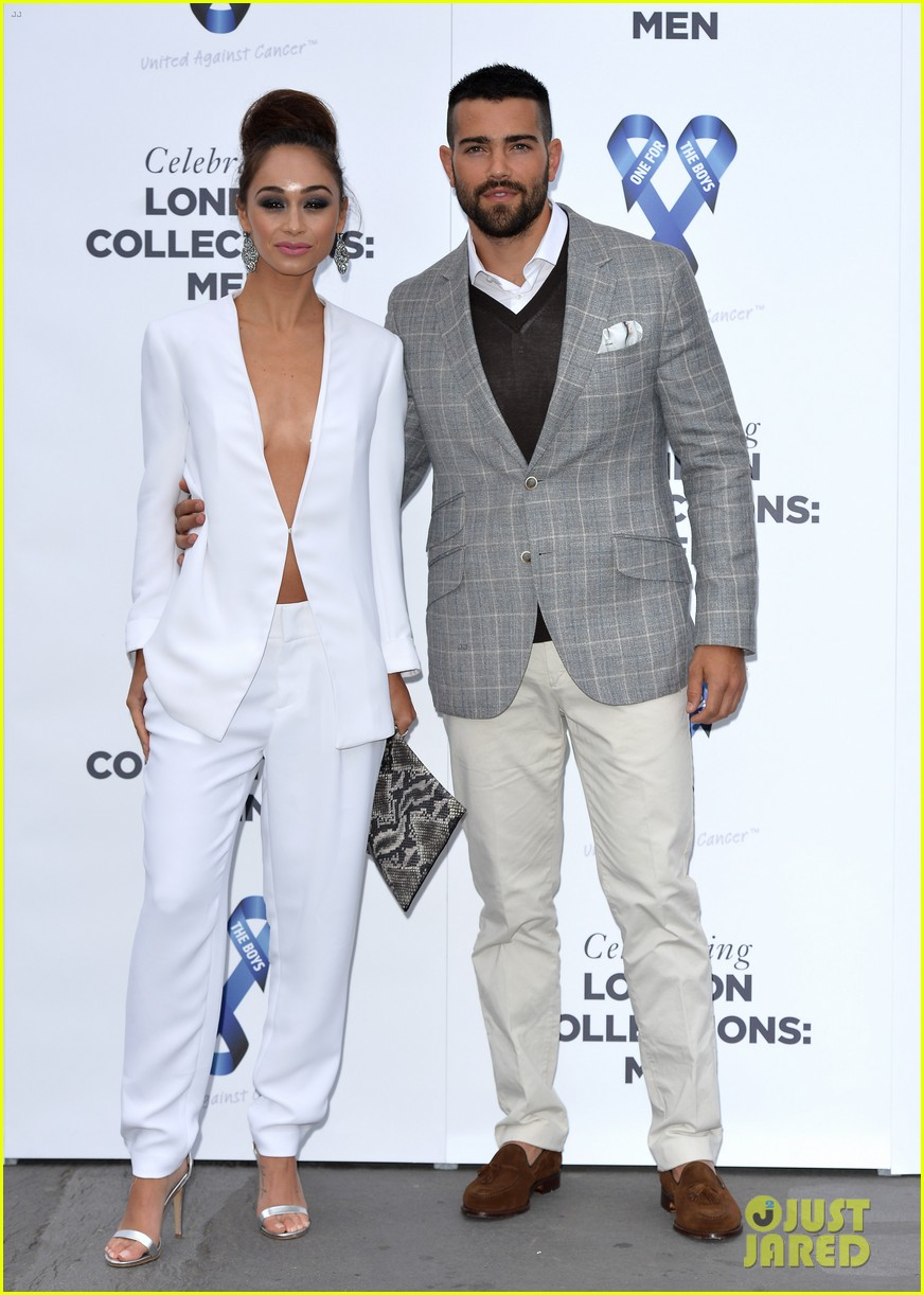 jesse metcalfe cara santana london charity event 013136057
