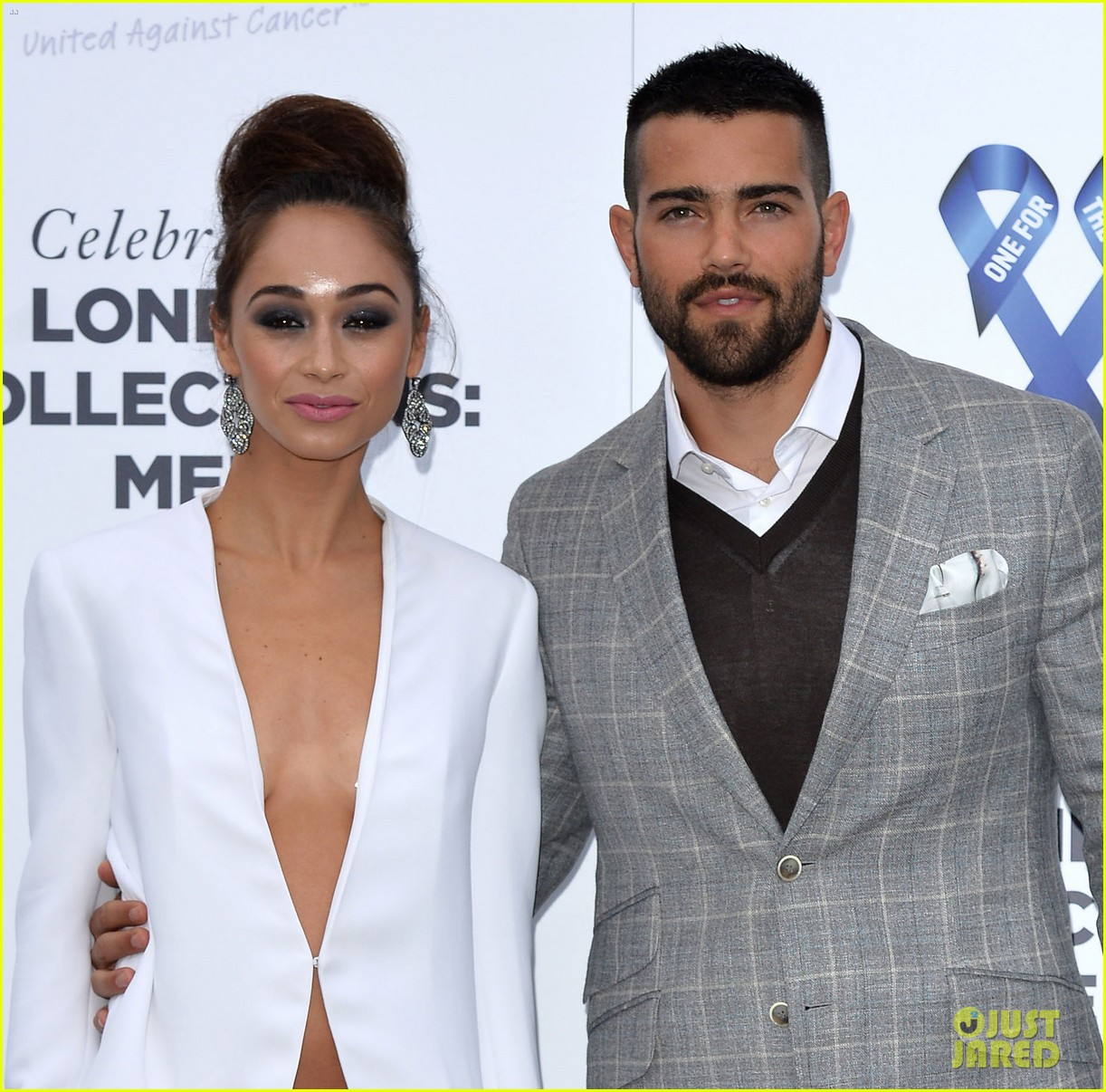 jesse metcalfe cara santana london charity event 033136059