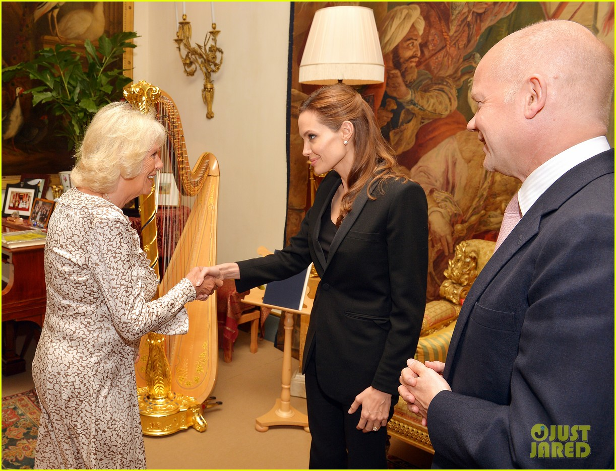 angelina jolie made honorary dame by queen elizabeth 03
