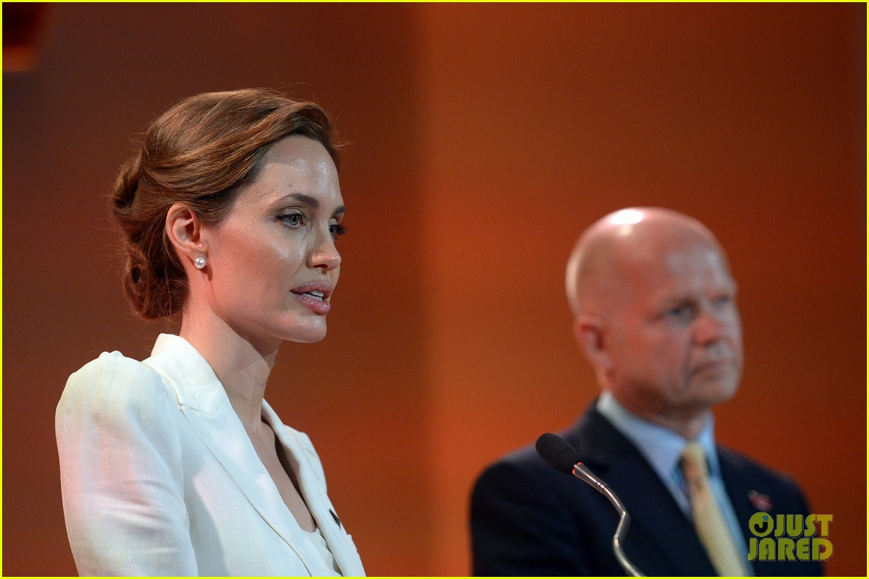 angelina jolie calls for an end to sexual violence 163132251