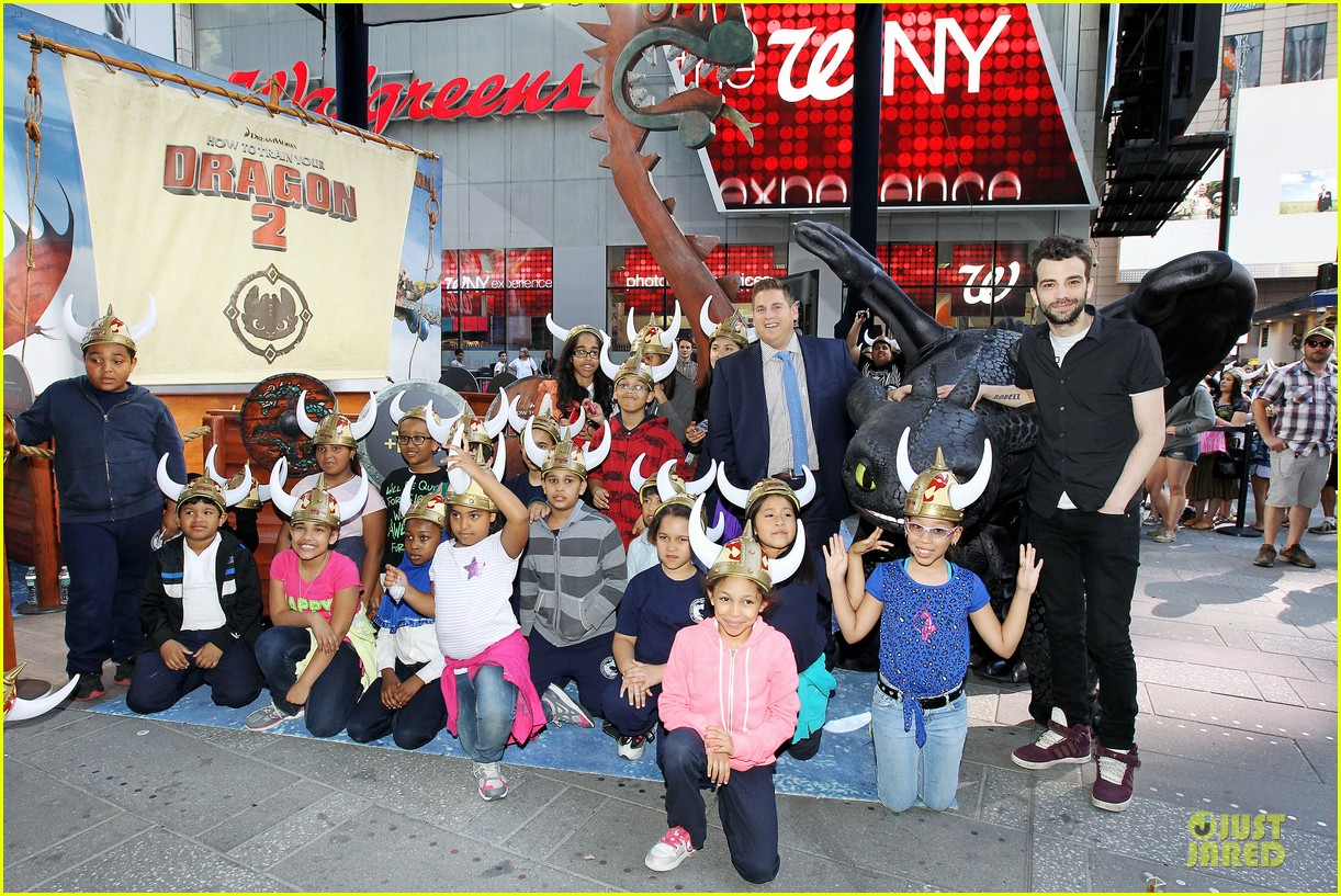 jonah hill jay baruchel kids for how to train your dragon 013130503