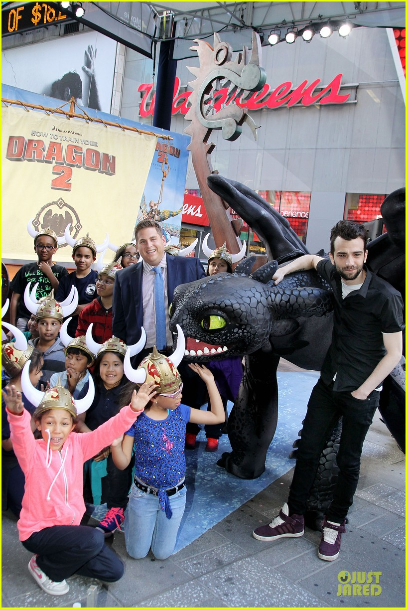 jonah hill jay baruchel kids for how to train your dragon 033130505