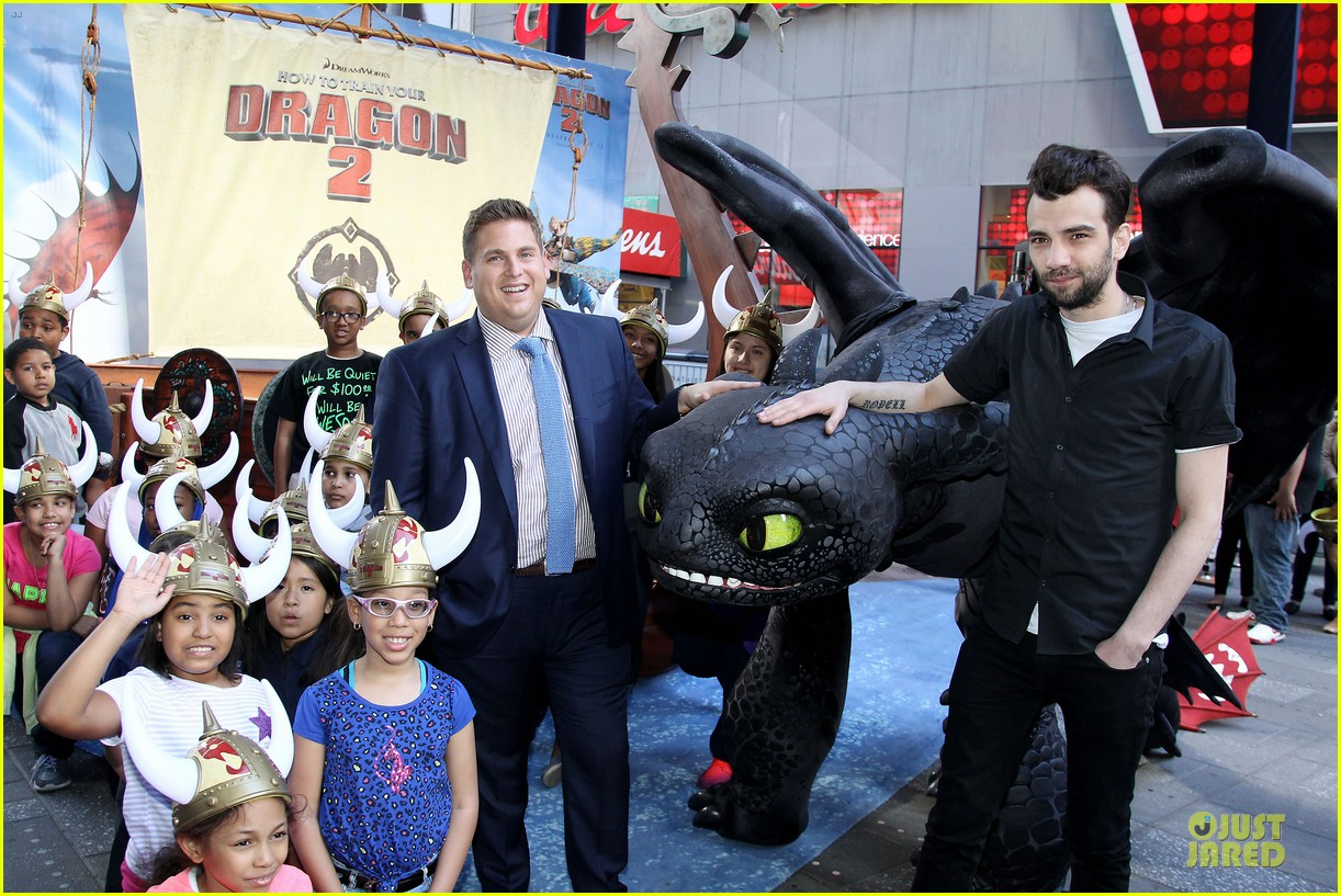 jonah hill jay baruchel kids for how to train your dragon 053130507