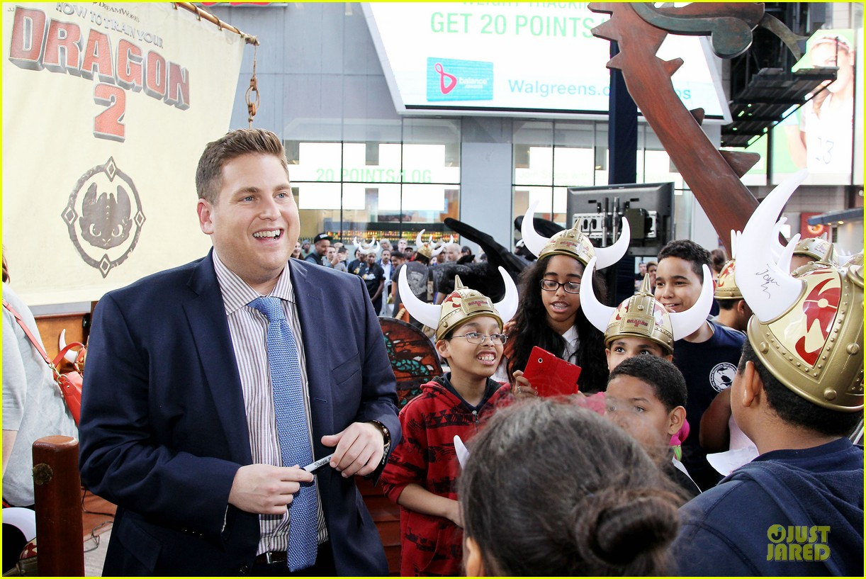 jonah hill jay baruchel kids for how to train your dragon 133130515