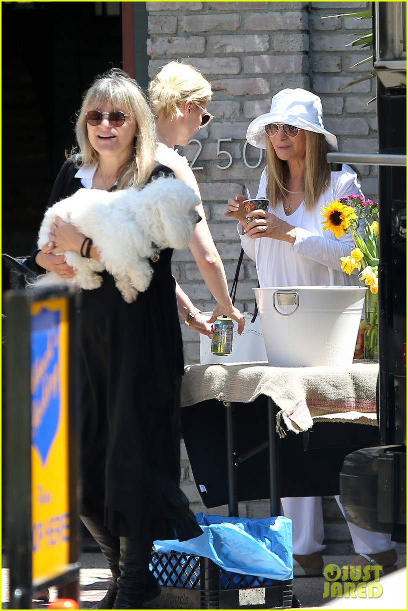 january jones barbra streisand lunch date pairing 16