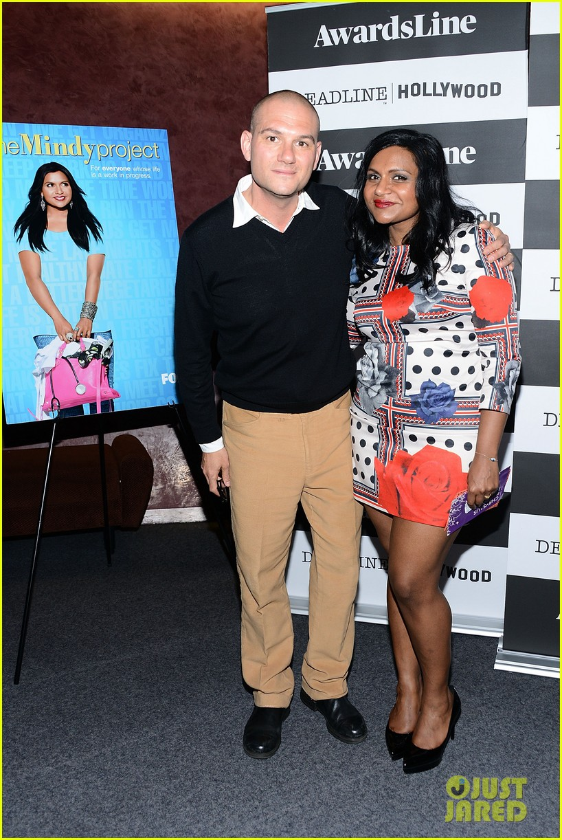mindy kaling mindy project screening with the cast 013129608