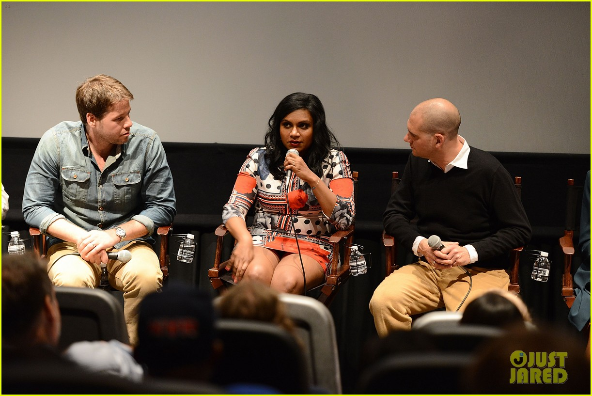 mindy kaling mindy project screening with the cast 023129609