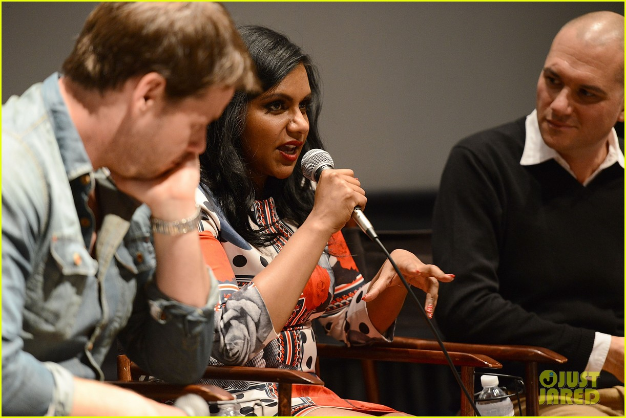 mindy kaling mindy project screening with the cast 063129613