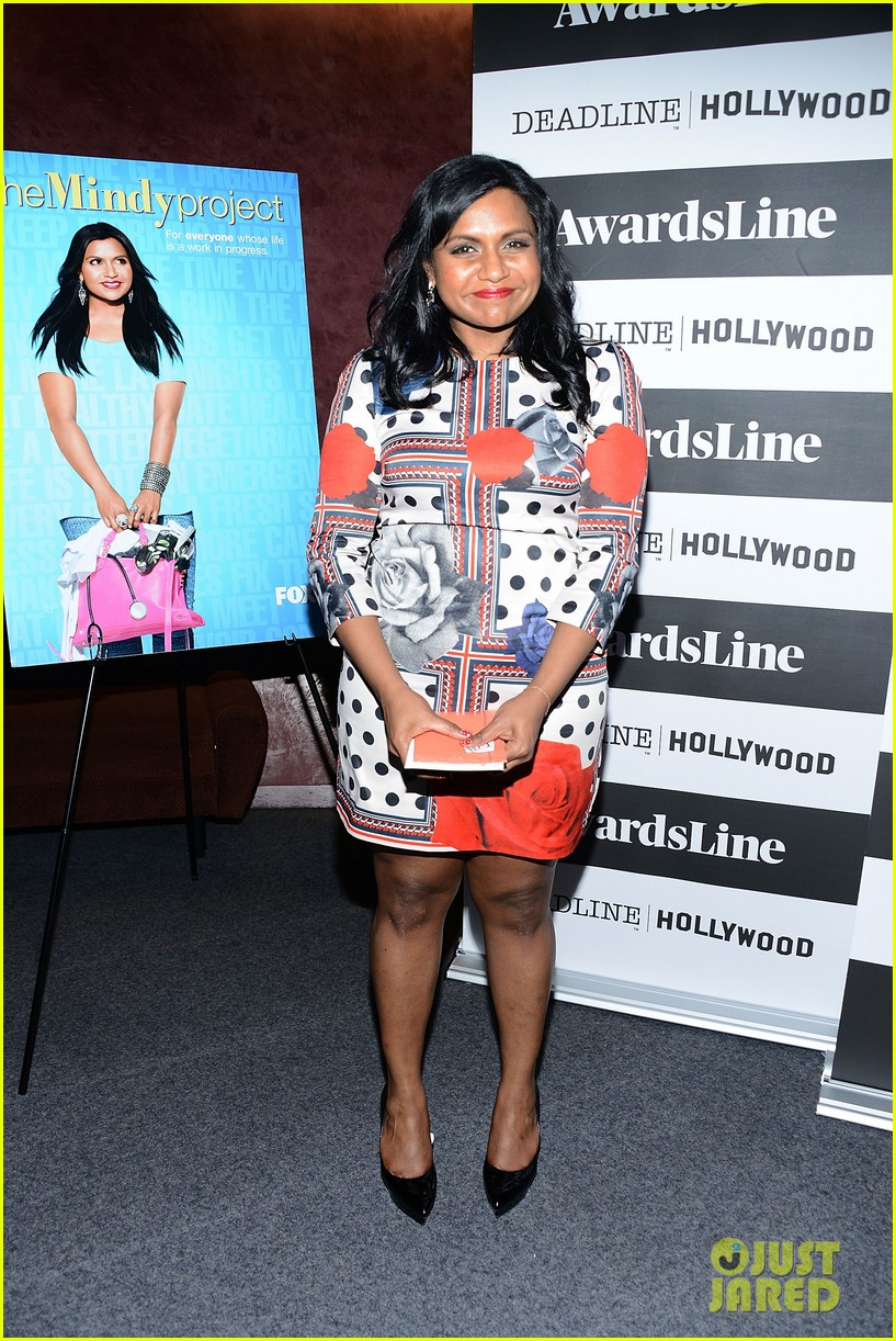 mindy kaling mindy project screening with the cast 093129616