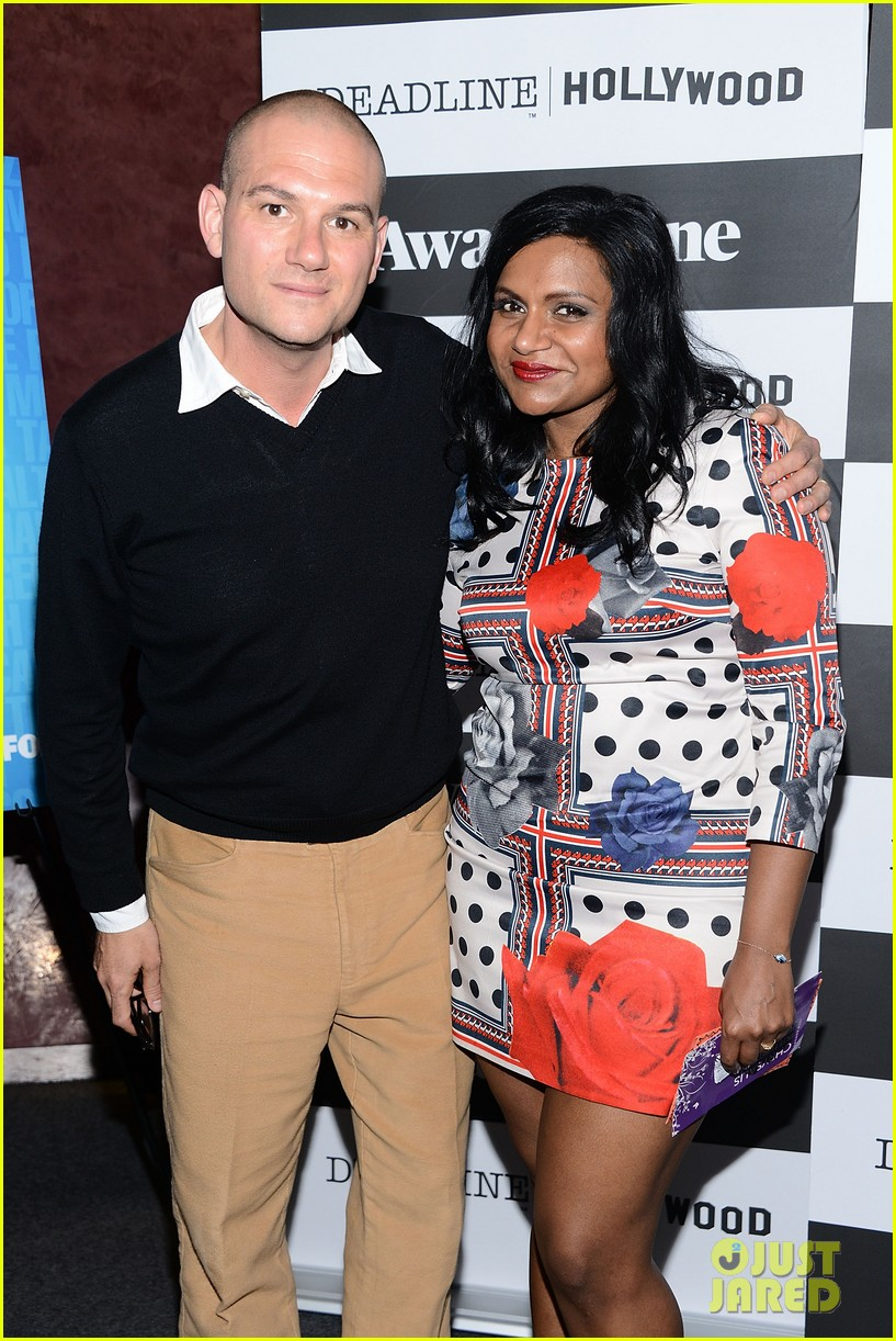mindy kaling mindy project screening with the cast 10