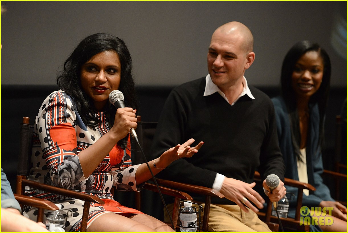 mindy kaling mindy project screening with the cast 123129619