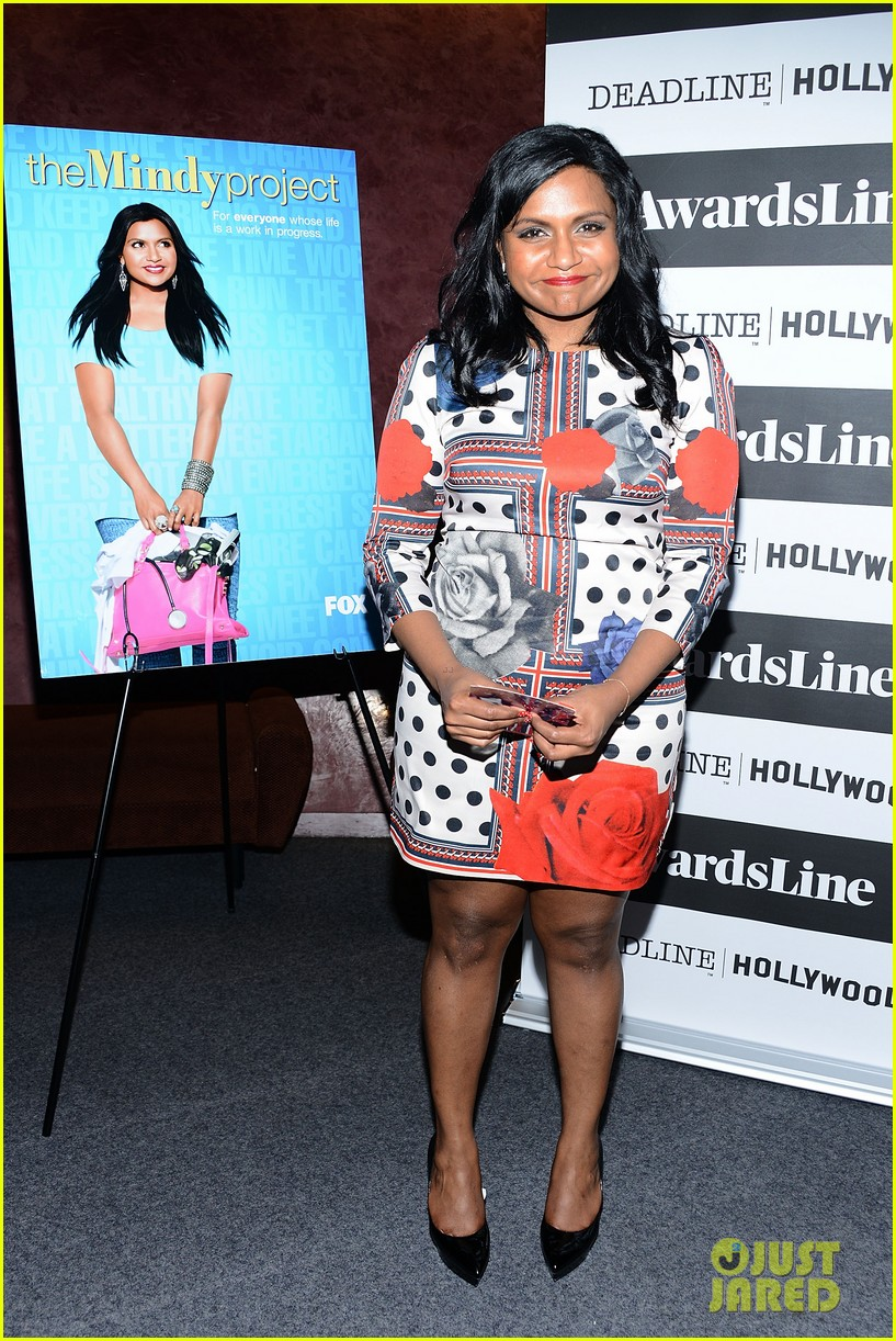 mindy kaling mindy project screening with the cast 133129620