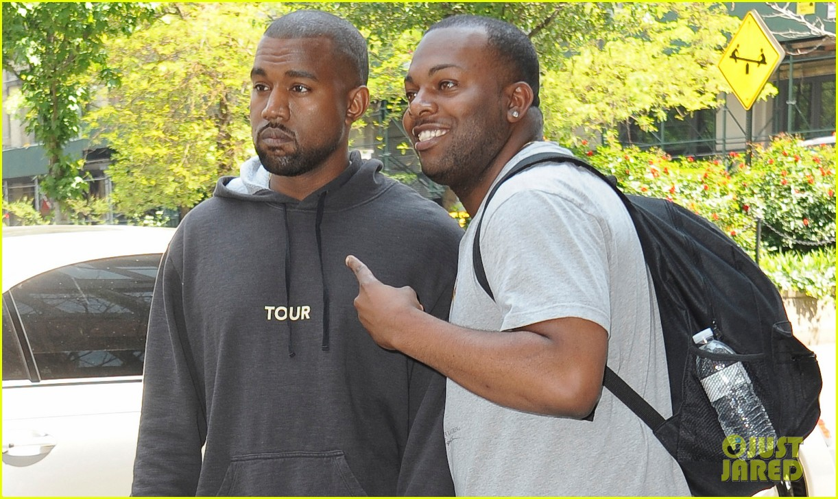 kanye west spotted in new york city after romantic honeymoon 033127462