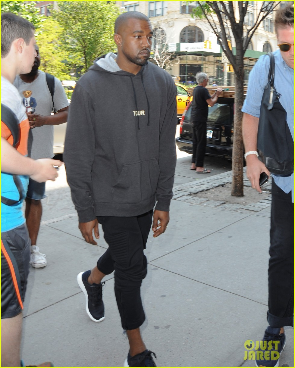 kanye west spotted in new york city after romantic honeymoon 043127463
