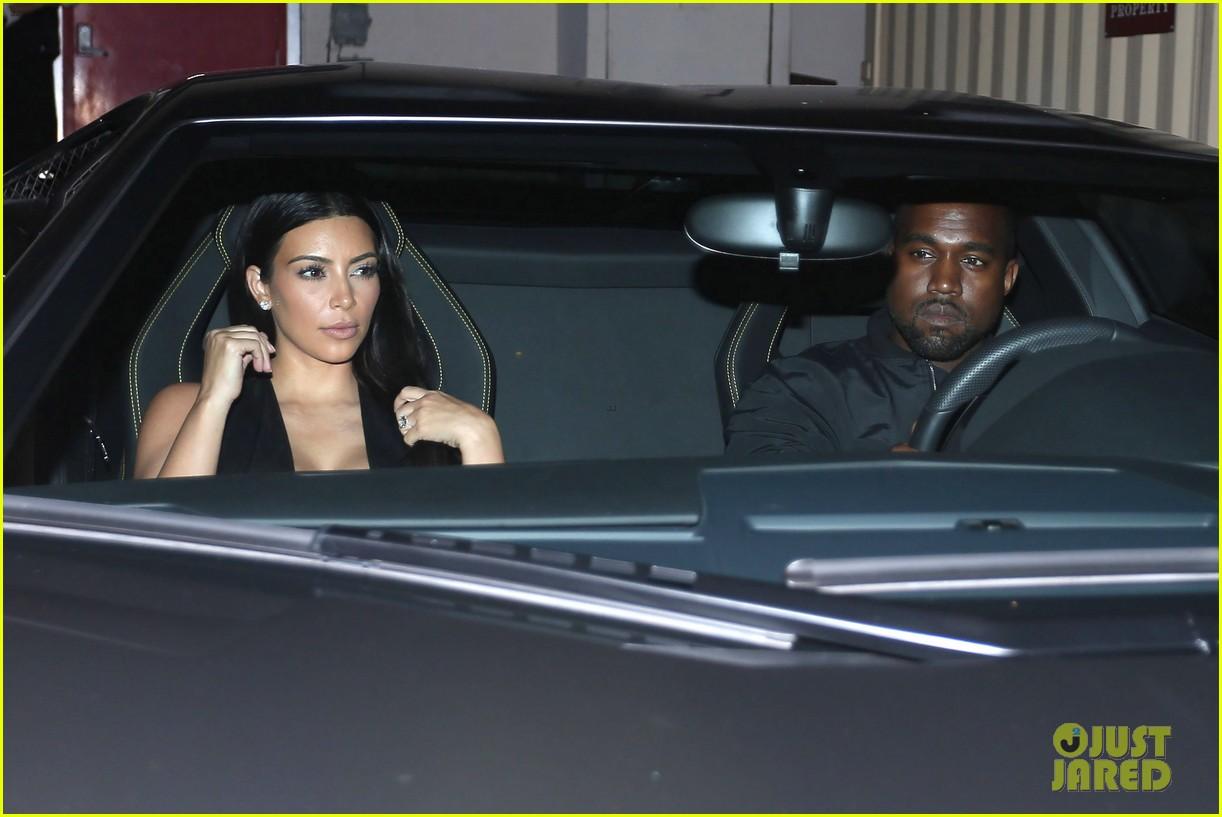 kim kardashian kanye west step out for dinner at craigs 143141685
