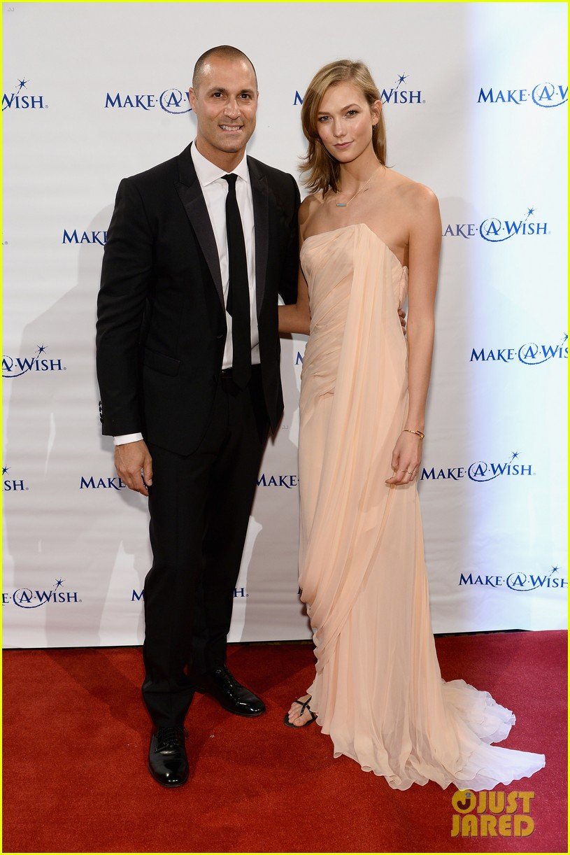 karlie kloss is a true angel at make a wish gala 093134670