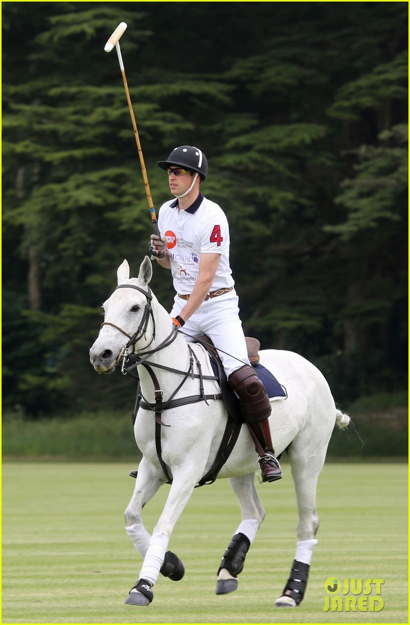kate middleton prince george william polo match 013135928
