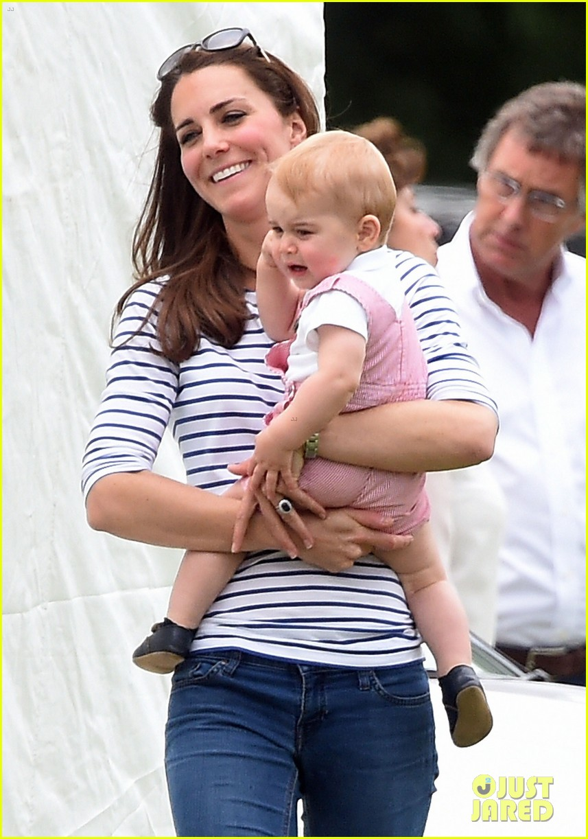 kate middleton prince george william polo match 023135929