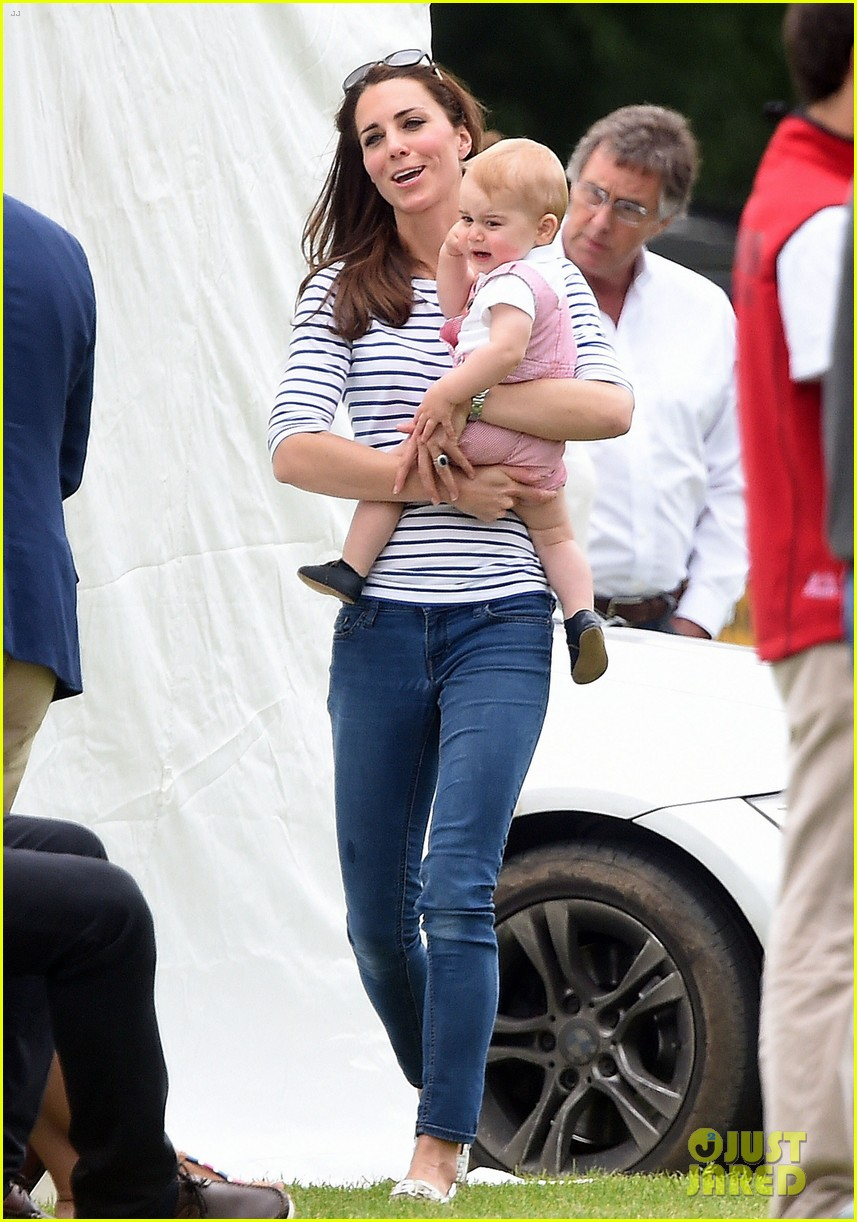 kate middleton prince george william polo match 043135931