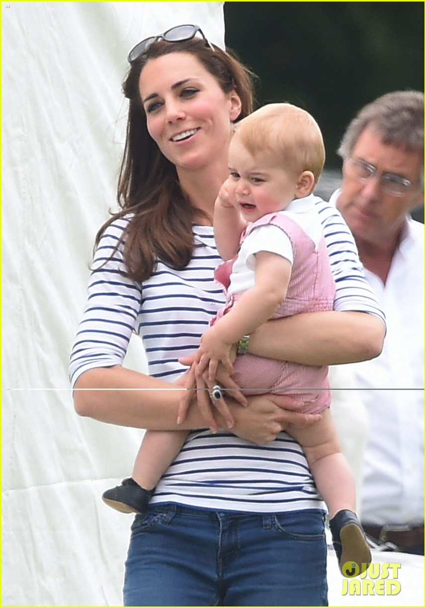 kate middleton prince george william polo match 06