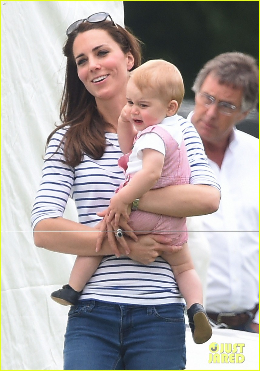 kate middleton prince george william polo match 123135939