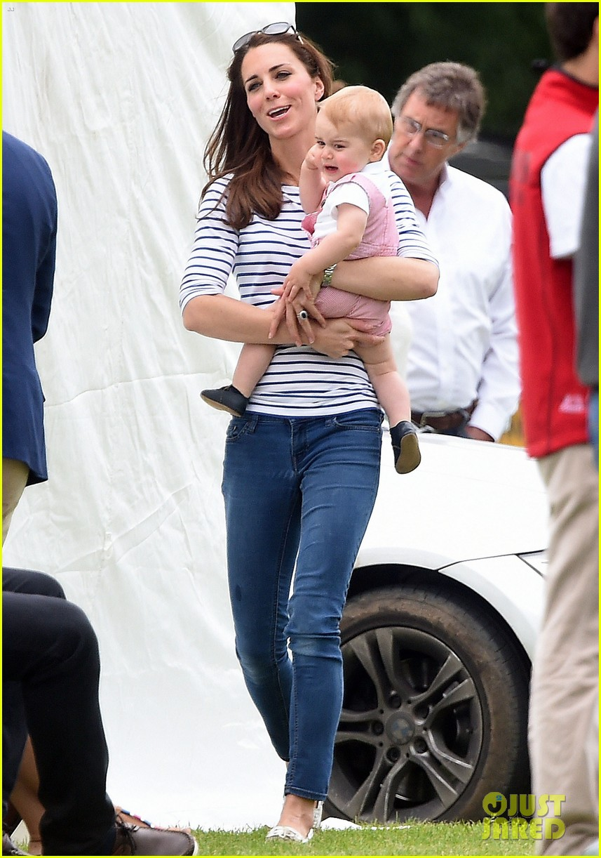 kate middleton prince george william polo match 133135940