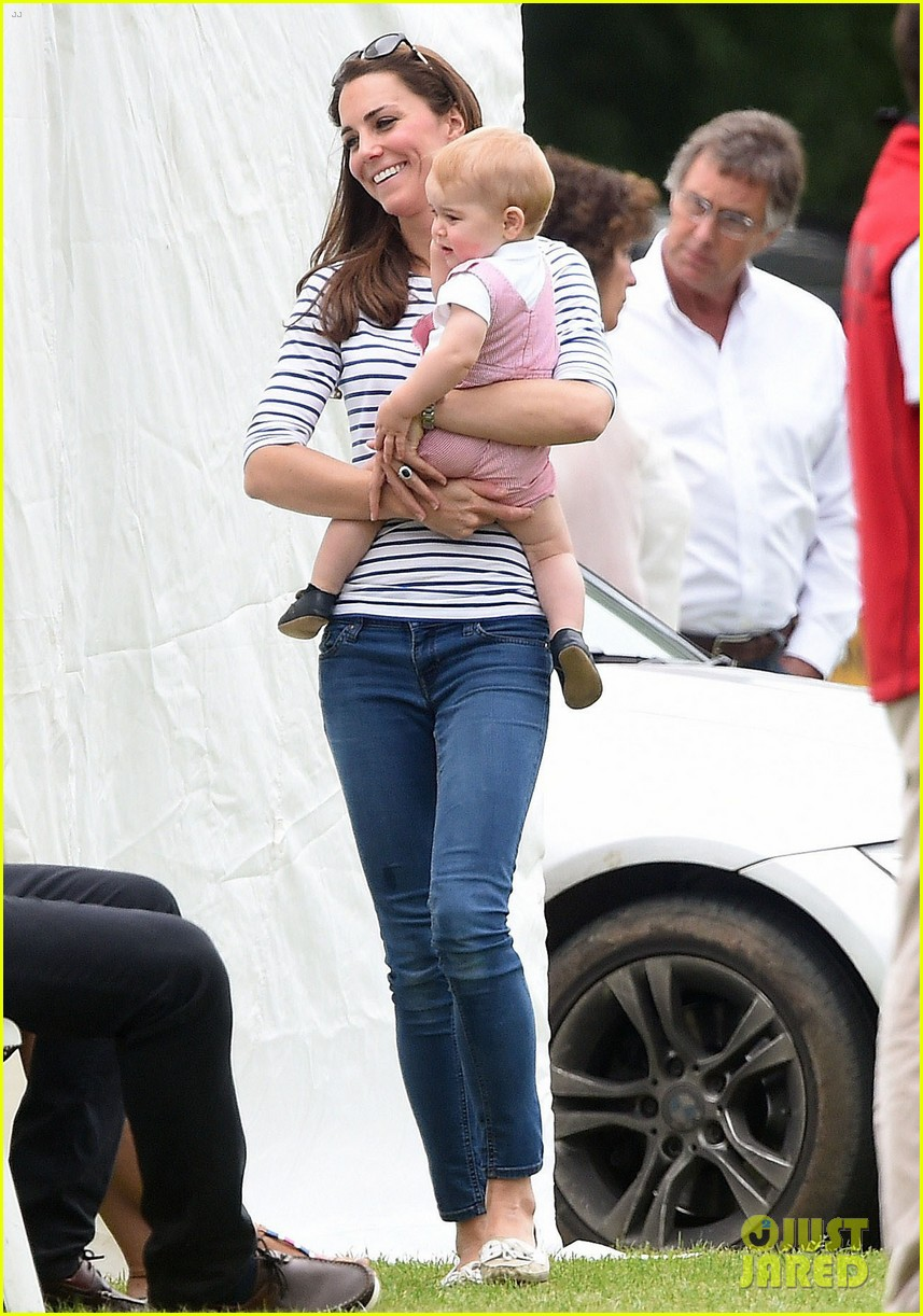 kate middleton prince george william polo match 163135943