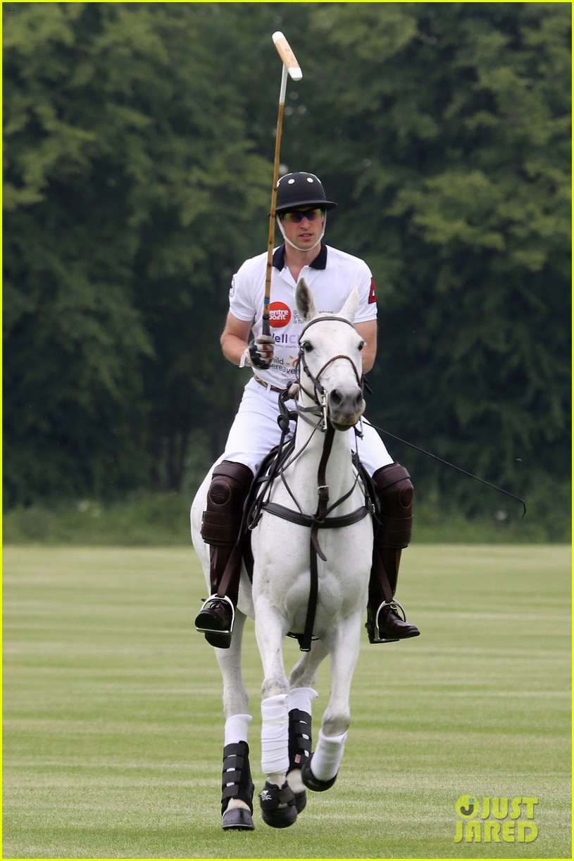 kate middleton prince george william polo match 173135944